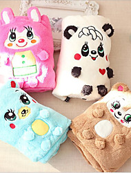 cheap -Portable / Keep Warm / Double-Sided Dog Clothes Bed / Towels Animal / Cartoon / Bear Coffee / Blue / Pink Cat / Dog