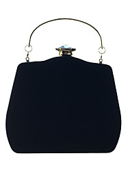 cheap -Women's Bags Velvet Evening Bag Crystals Wedding Party Event / Party Camel Wine Black Blue