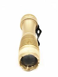Недорогие -ANOWL Фонари-брелоки 180 lm - 1 излучатели 1 Режим освещения Портативные Простота транспортировки Повседневное использование Черный Золотой Серебряный