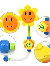 Недорогие -Игрушки для купания Новинки Цветы Загар и защита от солнца Новый дизайн Своими руками Мягкие пластиковые Детские Взрослые Игрушки Подарок 1 pcs