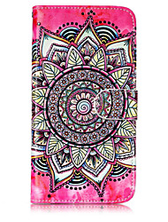 cheap -Case For Motorola Moto G5 Plus / Moto G5 / Moto C plus Wallet / Card Holder / with Stand Full Body Cases Mandala Hard PU Leather