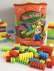 cheap -Building Blocks 320 pcs Cartoon / Family / Animal Handbags / Cartoon Toy / Cartoon Design Backpack Boys' Gift