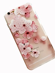 cheap -Case For Apple iPhone 8 Plus / iPhone 8 / iPhone 7 Plus Pattern Back Cover Flower Soft TPU