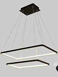 cheap -Ecolight™ Geometric Linear Pendant Light Ambient Light Painted Finishes Metal Acrylic Bulb Included, Adjustable, Dimmable 110-120V / 220-240V Warm White / White / G9