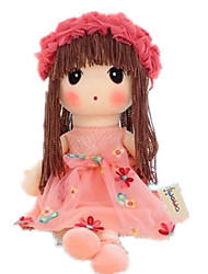 cheap -Plush Doll 14 inch Cute Child Safe Non Toxic Fun Lovely Hand Applied Eyelashes Kid's Girls' Toy Gift
