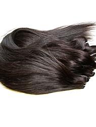 Недорогие -Бразильские волосы Прямой человеческие волосы Remy 150 g Человека ткет Волосы Ткет человеческих волос Расширения человеческих волос / Короткие