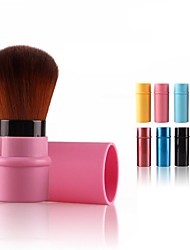 cheap -Professional Makeup Brushes Blush Brush 1pc Synthetic Hair Plastic Blush Brushes for