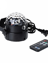 cheap -U'King Disco Lights Party Light LED Stage Light / Spot Light Sound-Activated / Remote Control / Music-Activated 6 W For Home / Club Portable RGB for Dance Party Wedding DJ Disco Show Lighting
