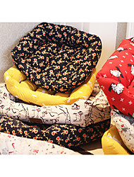 cheap -Dog Mattress Pad Beds Bed Blankets Pet Blankets Fabric Character White Yellow Red