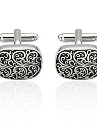 cheap -Cufflinks Costume Jewelry Brooch Jewelry Silver For Anniversary Casual
