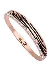 cheap -Women's Cuff Bracelet Bracelet Simple Fashion Gold Plated Bracelet Jewelry Rose Gold For Date Bar