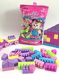 cheap -Building Blocks 140 pcs Houses / Train / House Handbags / Cartoon Toy / Cartoon Design Train Boys' Gift
