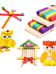 cheap -Building Blocks Handmade New Design DIY Kid's Adults' 100 pcs