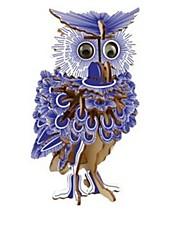 Недорогие -3D пазлы Наборы для моделирования Деревянные игрушки Домики Мода Сова Сова Для детской Новый дизайн Горячая распродажа 1 pcs Классика Современный современный Мода Детские Взрослые Мальчики Девочки