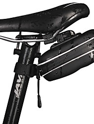 cheap -Nuckily Bike Saddle Bag Reflective Waterproof Lightweight Bike Bag Waterproof Fabric Bicycle Bag Cycle Bag Cycling / Bike / Waterproof Zipper