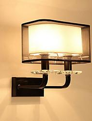 cheap -Country Wall Lamps & Sconces Glass Wall Light 220V 5 W / E14