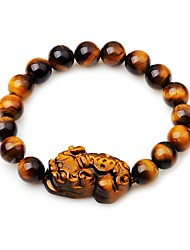 cheap -Women's Onyx Bead Bracelet Elegant Agate Bracelet Jewelry Brown For Gift Daily