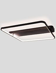 cheap -1-Light 28W Geometric Square Modern Style Simplicity LED Ceiling Lamp Flush Mount Living Room Light Fixture