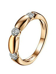 cheap -Women's Cubic Zirconia Gold Gold Plated Yellow Gold Fashion Casual Office & Career Jewelry Knife Edge