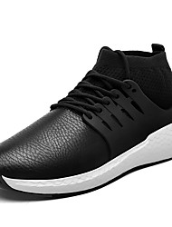 cheap -Men's Comfort Shoes Faux Leather Fall / Winter Sneakers Basketball Shoes Black / Blue / Gray / Athletic