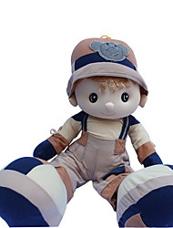 cheap -Girl Doll Plush Doll 22 inch Cute For Children Soft Child Safe Decorative Non Toxic Kid's Girls' Toy Gift / Large Size / Lovely