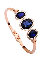 cheap -Women's Cuff Bracelet Korean Fashion Gold Plated Bracelet Jewelry Rose Gold For Daily Going out