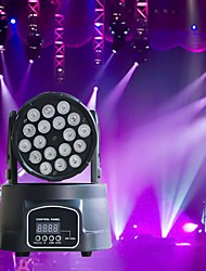 cheap -U'King Disco Lights Party Light LED Stage Light / Spot Light / LED Par Lights DMX 512 / Master-Slave / Sound-Activated 180 W Party / Stage / Wedding Professional Red Blue Green for Dance Party