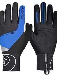 cheap -Nuckily Winter Bike Gloves / Cycling Gloves Mountain Bike Gloves Mountain Bike MTB Thermal / Warm Breathable Anti-Slip Sweat-wicking Full Finger Gloves Sports Gloves Red Fuchsia Green for Adults'