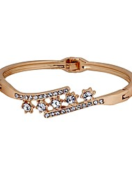 cheap -Women's Bracelet Bangles - Imitation Diamond Korean, Fashion Bracelet Gold For Daily