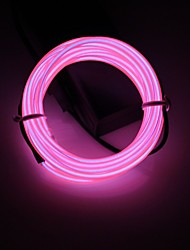 cheap -BRELONG® 2m String Lights 0 LEDs 1pc White Red Blue Party Decorative Wedding