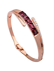 cheap -Women's Cuff Bracelet Bracelet Korean Fashion Gold Plated Bracelet Jewelry Rose Gold For Gift Evening Party