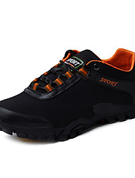 cheap -Men's Hiking Shoes Mountaineer Shoes Anti-Slip Waterproof Breathable Wear Resistance Low-Top Hiking Climbing Running Autumn / Fall Spring Summer Black Grey Brown