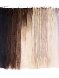 cheap -Neitsi Tape In Human Hair Extensions Classic Human Hair Human Hair Extensions 1pack Women's Beige Blonde /  / Bleached Blonde