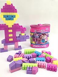 cheap -Building Blocks 57 pcs People / Family Handbags / Cartoon Toy / Cartoon Design Backpack Boys' Gift