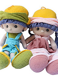 cheap -1 pcs Stuffed Animal Girl Doll Plush Doll Plush Toys Plush Dolls Stuffed Animal Plush Toy Baby Girl Cute For Children Soft Child Safe Decorative Non Toxic Adorable Lovely Cartoon Design Wedding Cloth