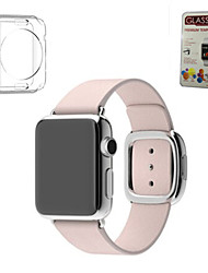 cheap -Watch Band for Apple Watch Series 5/4/3/2/1 Apple Modern Buckle / DIY Tools Genuine Leather Wrist Strap