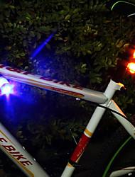 Недорогие -Велосипедные фары Задняя подсветка на велосипед огни безопасности Горные велосипеды Велоспорт Велоспорт Водонепроницаемый Несколько режимов Портативные Для профессионалов элемент питания