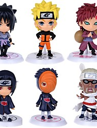 cheap -Anime Action Figures Inspired by Naruto Itachi Uchiha PVC(PolyVinyl Chloride) CM Model Toys Doll Toy