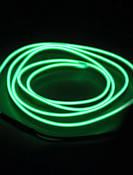 cheap -5m String Lights 0 LEDs EL 1pc White Red Blue Waterproof Self-adhesive Neon Electroluminescent Wire