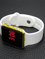 cheap -Women's Digital Watch Rubber Black / White LCD Analog Casual Fashion Elegant Christmas - Purple Black / Gold Blue One Year Battery Life