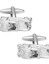 cheap -Cufflinks Bus Truck Leisure Brooch Jewelry Silver For Daily