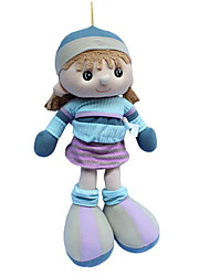 cheap -Girl Doll Plush Doll Fashion Cartoon Wedding Cute For Children Soft Child Safe Decorative Non Toxic Kid's Girls' Toy Gift / Large Size / Lovely