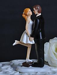 Недорогие -Украшения для торта Друзья Свадьба Плексиглас Свадьба Для вечеринок с Подарочная коробка