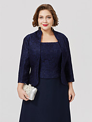 cheap -3/4 Length Sleeve Lace Wedding / Party / Evening Women's Wrap With Lace Coats / Jackets