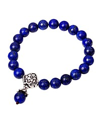 cheap -Women's Onyx Bead Bracelet Fashion Agate Bracelet Jewelry Dark Blue For Going out