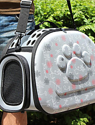 cheap -Cat Dog Carrier Bag & Travel Backpack Breathable Pet Foam Love Pink Gray