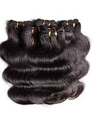cheap -Brazilian Hair Body Wave Human Hair 300 g Natural Color Hair Weaves / Hair Bulk Human Hair Weaves Human Hair Extensions