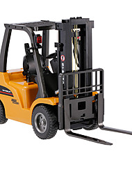 cheap -RC Car HUINA 1577 8 Channel 2.4G Forklift / Construction Truck 1:10 Remote Control / RC / Rechargeable / Electric