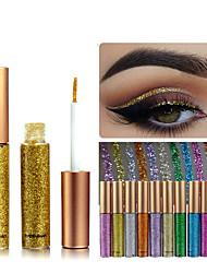 Недорогие -1шт радуга цвета eyeshadow блеск длительный водонепроницаемый eyeshadow подводка для глаз