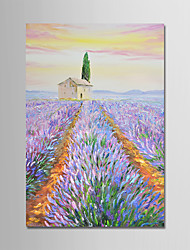cheap -Oil Painting Hand Painted - Landscape Modern Canvas / Stretched Canvas
